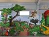 deco-volcan-pomme-animaux-enfant-europark-indoor-8m-x-30m-vias-2012
